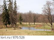 Купить «Пейзаж, парк в Петергофе», фото № 870526, снято 2 мая 2009 г. (c) Смыгина Татьяна / Фотобанк Лори