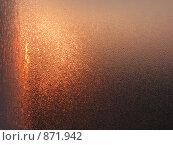 Наледь на стекле. Стоковое фото, фотограф Игорь Сковородников / Фотобанк Лори
