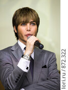 Купить «Сергей Зверев», фото № 872322, снято 15 мая 2009 г. (c) Алина Акимова / Фотобанк Лори