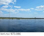 Купить «Волжский пейзаж», фото № 873086, снято 9 мая 2009 г. (c) Анна Белова / Фотобанк Лори