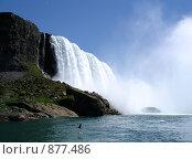 Ниагарский водопад (2006 год). Стоковое фото, фотограф Ангелина Матросова / Фотобанк Лори