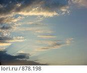 Купить «Небо», фото № 878198, снято 4 августа 2008 г. (c) Елена Велесова / Фотобанк Лори