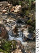 Маленький водопад. Стоковое фото, фотограф Анна Дегтярёва / Фотобанк Лори
