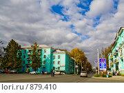 Купить «Краснотурьинск, центр города, старая застройка», фото № 879410, снято 23 сентября 2008 г. (c) Максим Антипин / Фотобанк Лори