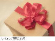 Купить «Романтичный подарок для любимой в коробке с бантом», фото № 882250, снято 24 мая 2009 г. (c) Архипова Мария / Фотобанк Лори
