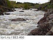 Купить «Ревун — порог на реке Исеть», фото № 883466, снято 21 мая 2009 г. (c) Павел Спирин / Фотобанк Лори