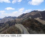 Купить «Мутиануй. Великая Китайская Стена.», фото № 886334, снято 27 марта 2008 г. (c) Александр Солдатенко / Фотобанк Лори