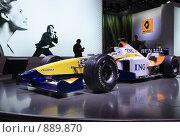 Купить «Renault F1 Team», эксклюзивное фото № 889870, снято 6 сентября 2008 г. (c) Журавлев Андрей / Фотобанк Лори
