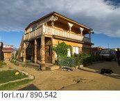 Купить «Байкал, остров Ольхон. Туристический домик», фото № 890542, снято 11 сентября 2008 г. (c) Andrey M / Фотобанк Лори