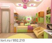 Купить «Детская комната», иллюстрация № 892210 (c) Наталия Печёрских / Фотобанк Лори