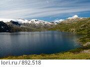 Купить «Горное озеро», фото № 892518, снято 17 августа 2008 г. (c) Роман Мухин / Фотобанк Лори