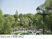 Москва, Царицыно (2009 год). Редакционное фото, фотограф Наталья Самсонова / Фотобанк Лори