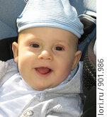 Купить «Веселый малыш», фото № 901986, снято 31 мая 2009 г. (c) Юлия Подгорная / Фотобанк Лори