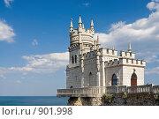 Купить «Ласточкино гнездо. Крым», фото № 901998, снято 21 апреля 2009 г. (c) Ирина Завьялова / Фотобанк Лори