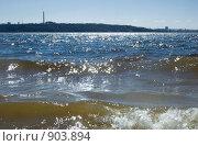 Купить «Река Волга», фото № 903894, снято 26 апреля 2009 г. (c) Евгений Большаков / Фотобанк Лори