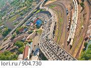 Купить «Московские пробки с высоты птичьего полёта», фото № 904730, снято 26 мая 2009 г. (c) Андрей Лавренов / Фотобанк Лори