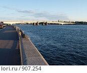 Мост Александра Невского (2009 год). Стоковое фото, фотограф Михаил Сметанин / Фотобанк Лори