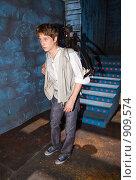 Купить «Актер Антон Шагин», фото № 909574, снято 4 июня 2009 г. (c) Сергей Лаврентьев / Фотобанк Лори