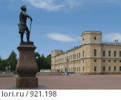 Гатчинский дворец (2008 год). Редакционное фото, фотограф St.Tatyana / Фотобанк Лори