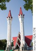 Мечеть Ляля-Тюльпан (2009 год). Стоковое фото, фотограф Михаил Валеев / Фотобанк Лори