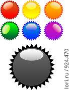 Купить «Разноцветные стикеры», иллюстрация № 924470 (c) Jan Jack Russo Media / Фотобанк Лори