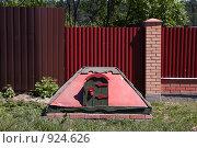 Купить «Запасный пожарный колодец», фото № 924626, снято 31 мая 2009 г. (c) Юрий Синицын / Фотобанк Лори
