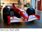 Купить «Гоночный автомобиль Формула 1 Ferrari, музей Феррари, Моронелло, Италия», фото № 927250, снято 9 июля 2008 г. (c) Александр Косарев / Фотобанк Лори