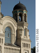 Купить «Правая колоннада собора. Кронштадт», фото № 931666, снято 6 июня 2009 г. (c) Олег Трушечкин / Фотобанк Лори