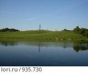 Озеро. Стоковое фото, фотограф Владимир Соловьев / Фотобанк Лори