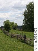 Забор на даче. Стоковое фото, фотограф евгений блинов / Фотобанк Лори