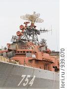 Купить «Военный корабль», фото № 939070, снято 13 июня 2009 г. (c) Михаил Ворожцов / Фотобанк Лори