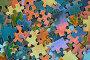 Фон из частичек мозаики, фото № 941118, снято 15 июня 2009 г. (c) Кекяляйнен Андрей / Фотобанк Лори