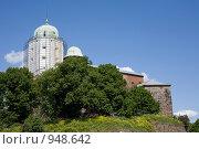 Купить «Выборг. Замок, башня Святого Олафа», фото № 948642, снято 25 июня 2009 г. (c) Egorius / Фотобанк Лори