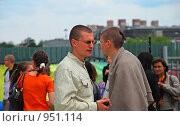Купить «Кришнаиты. Праздник колесниц», эксклюзивное фото № 951114, снято 6 июня 2009 г. (c) lana1501 / Фотобанк Лори