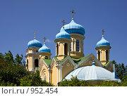 Купить «Свято-Никольский Храм (Верхнеуральск)», фото № 952454, снято 28 июня 2009 г. (c) Евгений Прокофьев / Фотобанк Лори