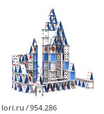 Купить «Карточный домик», иллюстрация № 954286 (c) Мзареулян Лусинэ / Фотобанк Лори