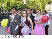 Купить «Выпускной 2009, город Реутов», эксклюзивное фото № 955270, снято 23 июня 2009 г. (c) Дмитрий Неумоин / Фотобанк Лори