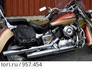 Купить «Мотоцикл», эксклюзивное фото № 957454, снято 20 июня 2009 г. (c) Tamara Sushko / Фотобанк Лори