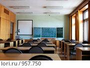 Купить «Большая классная комната», фото № 957750, снято 27 марта 2009 г. (c) Игорь Долгов / Фотобанк Лори