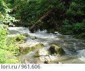 Каскад водопадов на реке Юрток, Алтай. Стоковое фото, фотограф Вера Веремейчук / Фотобанк Лори