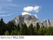 Горный пейзаж. Стоковое фото, фотограф Анастасия Кутейникова / Фотобанк Лори