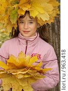 Купить «Кленовое чудо», фото № 963418, снято 11 октября 2008 г. (c) Смирнова Лидия / Фотобанк Лори