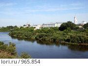 Город на Исети (2009 год). Стоковое фото, фотограф Лариса Патракеева / Фотобанк Лори