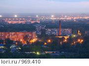 Ночной Нижний Новгород (2006 год). Стоковое фото, фотограф Дмитрий Кашканов / Фотобанк Лори