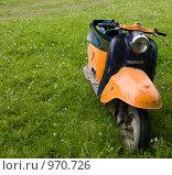 Купить «Старый мотороллер», фото № 970726, снято 4 июля 2009 г. (c) Коротеев Сергей / Фотобанк Лори
