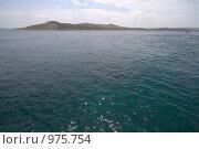 Средиземное море, пролив между островами Сардинией и Маддаленой (2009 год). Стоковое фото, фотограф Сергей Бесчастный / Фотобанк Лори