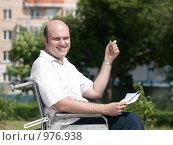 Купить «Проблемы инвалидов», фото № 976938, снято 19 августа 2018 г. (c) Зубко Юрий / Фотобанк Лори
