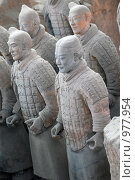 Купить «Воины терракотовой армии», фото № 977954, снято 18 мая 2009 г. (c) Марина Коробанова / Фотобанк Лори