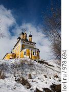 Николо-Набережная церковь, Муром (2009 год). Стоковое фото, фотограф Алексей Нестеров / Фотобанк Лори