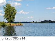 Купить «Река Малога. Тверская область.», фото № 985914, снято 16 июня 2009 г. (c) Елена Азарнова / Фотобанк Лори